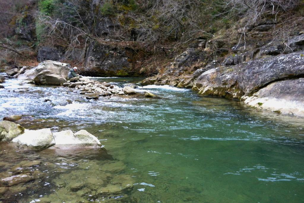 Il probabile livello dei fiumi a fine febbraio.
